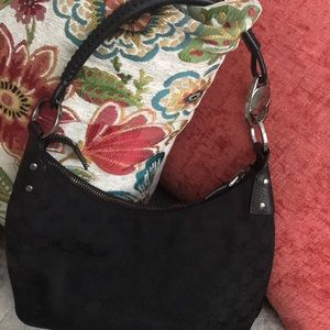 Gucci Hobo Shoulder Fabric Tote Bag
